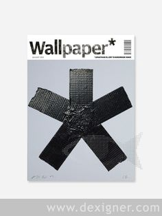 Wallpaper* magazine cover – editorial design with effect Magazine Wall, Wallpaper Magazine, Print Magazine, Magazine Cover Design, Magazine Covers, Paper Magazine Cover, Creative Review, Commercial Ads, The Design Files