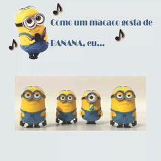 Minions singing José Cid! Minions Singing, Nerf, Toys, Crafts, Fictional Characters, Activity Toys, Manualidades, Clearance Toys, Handmade Crafts