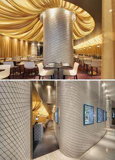 Xanthi bar and restaurant designed by Luchetti Krelle