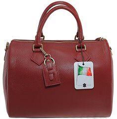 CTM Bag Women's Handbags Satchel, 30x23x18cm, 100% Made in Italy