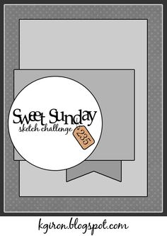 the sweetest thing...: Sweet Sunday Sketch Challenge 235