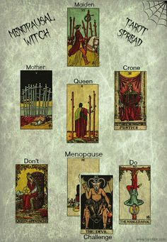 The Menopausal Witch Spread | Angelorum