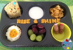 Rise and Shine muffin tin - quick easy preparation