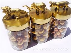 "Macaroon.co.za - Classic animal ""African Christmas"" gifts"