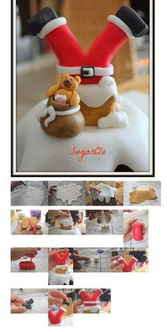 http://sugarclo.blogspot.it/2013/11/tutorial-come-decorare-un-pandoro-per.html