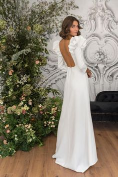 Perfect Wedding, White Dress, Collection, Wedding Dresses, Fashion, Templates, Party Dresses, Bridal Gowns, Weddings