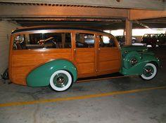 1941 Packard 120 Woodie