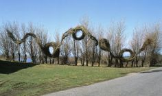 Natural Art Installations, Jenni Tieaho, Jaakko Pernu and Patrick Dougherty