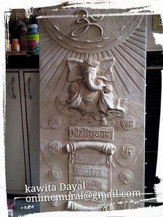 Mural Mural Painting, Mural Art, Ceramic Painting, Ceramic Art, Clay Wall Art, Clay Art, Wall Sculptures, Sculpture Art, Name Plate Design