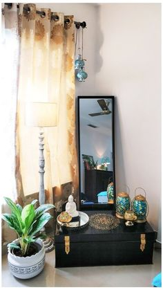Home Decor Ideas, India Home Decor, Ethnic Home Decor, Home Decor Furniture, Home Decor Bedroom, Living Room Decor, Living Rooms, Indian Room Decor, Indian Bedroom