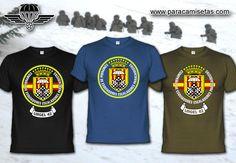 Compañía de Esquiadores Escaladores Paracaidistas Urgel 42. Camisetas Militares. www.paracamisetas.com