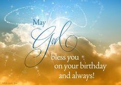 "Happy Birthday to You in Heaven | Heaven-Sent Birthday Wish"""