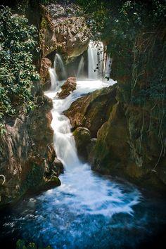 Puente De Dios . San Luis Potosi Mexico [ MexicanConnexionForTile.com ] #culture #Talavera #handmade