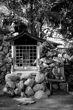 京都 法輪寺 地蔵と祠