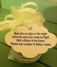 I adore this!!!    DIY Baby Shower Favors | Cute DIY Favor for baby shower…