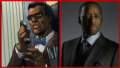 Courtney B. Vance as Lucius Fox, acting CEO of Wayne Enterprises