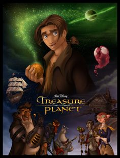 "Treasure Planet - in the first couple minutes, when his mom stands at the door and says, ""I love you,"" one of the toys on his shelf is STITCH IN A RED SPACE SUIT. Not that I'm watching this right now by myself or anything..."