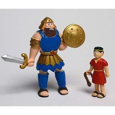 Renewing Minds 628791 Toy Action Figure Beginners Bible David and Goliath for sale online Preschool Bible, Preschool Age, Bible Activities, Christian Facebook, Sunday School Teacher, David And Goliath, Church Nursery, Thing 1, Buy Toys