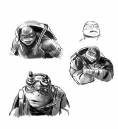 Ninja Turtles Movie, Teenage Mutant Ninja Turtles, Tortugas Ninja Leonardo, Turtles Forever, Tmnt Girls, Tmnt Comics, Turtle Love, Movie Collection, Sci Fi Art