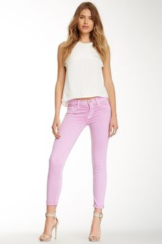 Harkin Crop Skinny Jean by HUDSON Jeans on @HauteLook