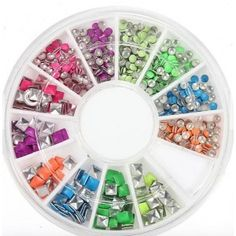 Easy to apply on natural or artificial nails Professional and home use. Nail Art Set, Easy Nail Art, Nail Art For Kids, Carrousel, Studded Nails, Artificial Nails, Christmas Nail Art, Gel Color, Diy Nails