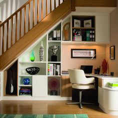 Check out 15 Stunning Design Ideas For Space Under Stairs by The Architecture Designs. Browse all ideas for space under stairs here. Staircase Storage, Stair Storage, Staircase Design, Spiral Staircase, Basement Staircase, Basement Steps, Basement Ceilings, Basement Bars, Basement Finishing