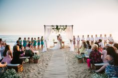 Casamento na Praia | Bruna + Lucio | Vestida de Noiva | Blog de Casamento por Fernanda Floret