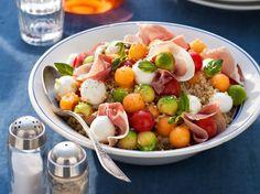 Avec les lectrices reporter de Femme Actuelle, découvrez les recettes de cuisine des internautes : Salade de quinoa et graines de sésame
