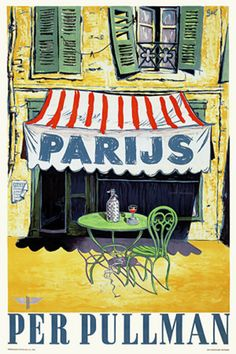 Paris by Pullman  http://www.vintagevenus.com.au/vintage/reprints/info/TV488.htm
