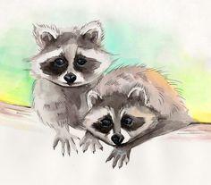 Crumb-raccoon