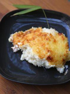 Chou-fleur gratiné au jambon - Recette de cuisine Marmiton : une recette