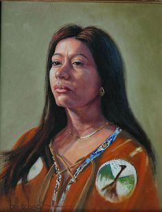 """Bill Scheidt, Oil Painting, """"Princess"""" #TexasArtist #OilPainting #kerrville #texas"""