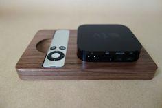 Walnut bloc for Apple TV