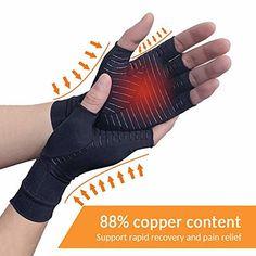 Cheap Braces, Online Shopping, Arthritis Gloves, Arthritis Foundation, Copper Fit, Dog Winter Coat, Hand Gloves, Carpal Tunnel, Black