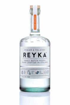 Reyka vodka packaging design