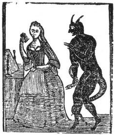 Devil and Maiden - CVIC Works Weblog: Woodcuts