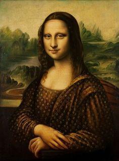 Mona in Louis Vuitton