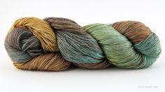 Handmaiden Sea Silk yarn, beachhouse