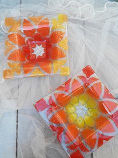 Fused Glass, Bowls, Studio, Tableware, Painting, Ideas, Glass Art, Trays, Lilac