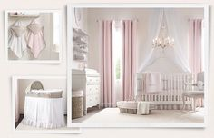 Rooms | Restoration Hardware Baby & Child. nursery. I like the feeling of this room