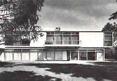 Casa en Coyoacan, calle Tata Vasco, Santa Catarina, Coyoacán, México, DF 1962   Arq. Enrique Carral Icaza -  House in Coyoacan, calle Tata Vasco, Santa Catarina, Coyoacan, Mexico City 1962