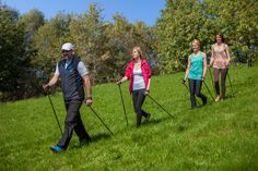 Spacer po zdrowie! Świeże powietrze i zielone łąki czekają na entuzjastów Nordic Walkingu! | Walk for health! Fresh air and green meadows are waiting for the enthusiasts of Nordic walking! http://www.hotelklimek.pl/sport/nordic-walking #relaks #sport #zdrowie #fit #nordicwalking
