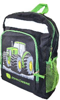 John Deere Tractor Backpack
