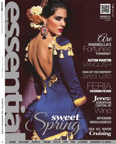 This month, we have a bumper edition for you to enjoy! Experience Kevin Woodford's Essential London and compare luxury cruising at sea with an outstanding river cruise adventure. Hold on tight as we test drive the new Aston Martin Vanquish and pr. Flamenco Costume, Flamenco Dancers, Flamenco Dresses, Essentials Magazine, Spanish Dancer, Spanish Fashion, Ballroom Dress, Boho Gypsy, Couture Fashion