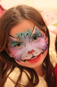Nurit Pilchin    cat Kid Costumes, Halloween Costumes For Kids, Face Paintings, Animal Paintings, Face Painting Designs, Body Painting, Painted Faces, Holidays With Kids, Cat Face