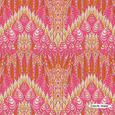 Tula Pink Fox Field Botanica in Sunrise Tula Pink Fox Field Botanica in Sunrise fabric for patchwork quilting and dressmaking from Eclectic Maker [PWTP047.Sunri] : Patchwork, quilting and dressmaking fabric, patterns, habberdashery and notions from Eclectic Maker