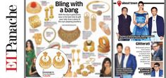 The Economic Times Panache Magazine recommends the glamour of Ghanasingh Be True for every lovely lady!