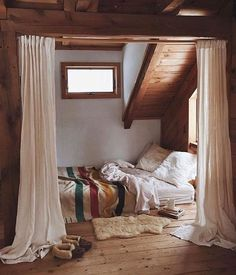 Looks Like A Porch Turned Into A Giant Bed! | Porches | Pinterest | Porch,  Bedrooms And Cabin