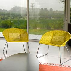Low Back Easy Chair Yellow, 636€, now featured on Fab.