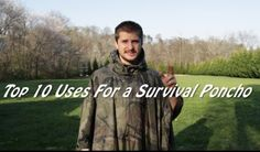 10 Different Ways To Use A Poncho During a Survival Situation  http://www.survivorninja.com/10-ways-to-use-a-poncho-durin…/